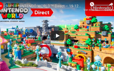 Checa el SUPER NINTENDO WORLD #nodejesdejugar