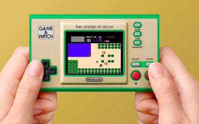 La consola portátil GAME & WATCH: The Legend of Zelda saldrá el 12 de Noviembre. #nodejesdejugar